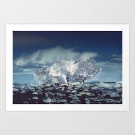 The Ice King Art Print