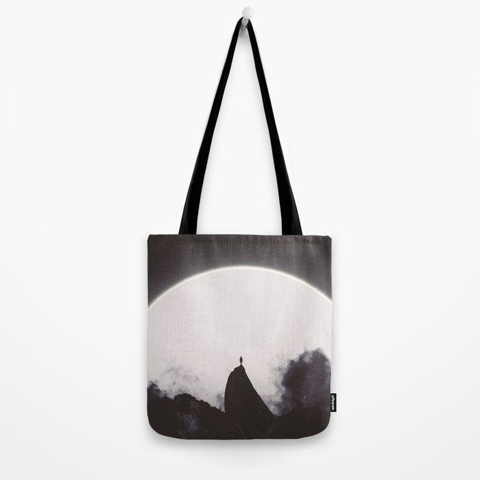 Abaddon Black & White Tote Bag