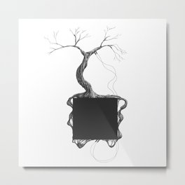 Artificial Tree N.31 Metal Print