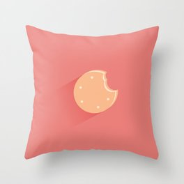 Ice Cream Biscuit Throw Pillow