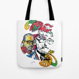 Homage to Theodor Seuss Geisel Tote Bag
