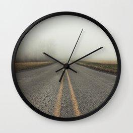 Low Views Wall Clock