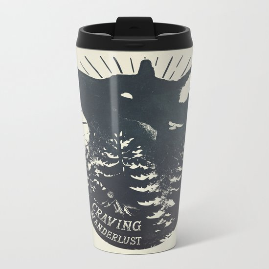 Craving wanderlust Metal Travel Mug