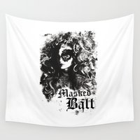 dragon ball Wall Tapestries featuring BALL by TOO MANY GRAPHIX