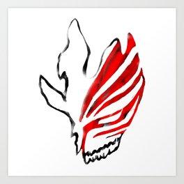 Hollow Mask Art Print