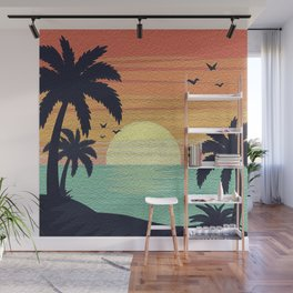 Tropical Bliss Wall Mural