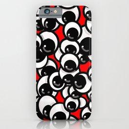 Googly Eyes iPhone Case