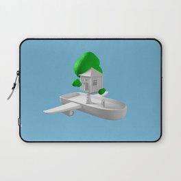 Tree House Boat Laptop Sleeve