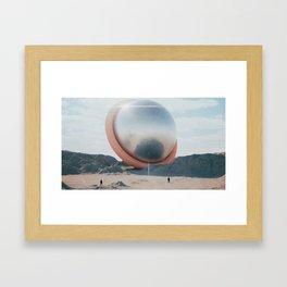 TorSphere Framed Art Print