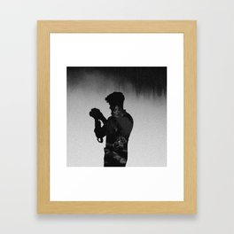 I'm into you Framed Art Print