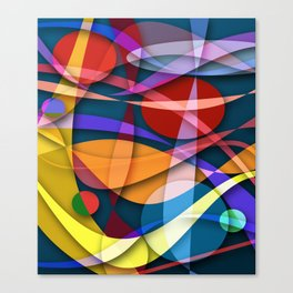 Abstract #358 Canvas Print