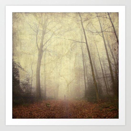 fog trail Art Print