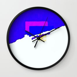Your Mess Is Mine Wall Clock