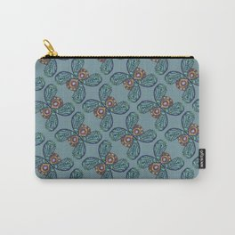 Paisley Wings Carry-All Pouch