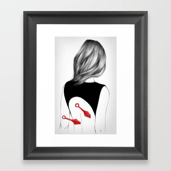 Back Stabbers II Framed Art Print