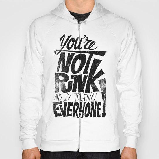 Not Punk Hoody