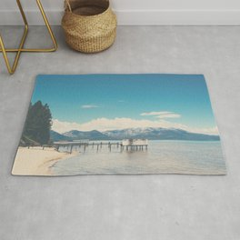 Lake Tahoe photograph Rug