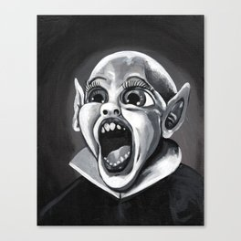 Bat Boy Canvas Print
