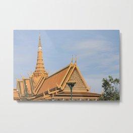 Golden Buddha, Cambodia Metal Print
