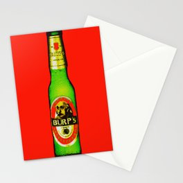 Burp's Beer Stationery Cards