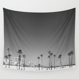 Palm Tree Beach Wall Tapestry