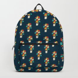Hedgehog with flowers Backpack