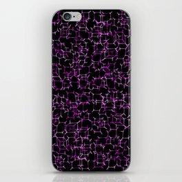 Cube Skeletons - Pinks in Space iPhone Skin