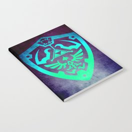 Video game Shield Notebook