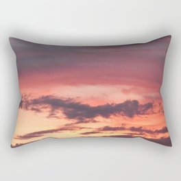 Sunrise Sherbet Rectangular Pillow