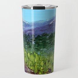 Alpine Lupine Travel Mug