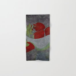 Soft Strawberries Hand & Bath Towel