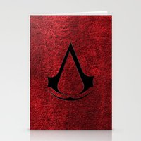 assassins creed Stationery Cards featuring Creed Assassins Brotherhood by aleha
