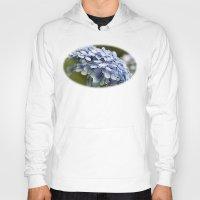 hydrangea Hoodies featuring Hydrangea  by Wealie
