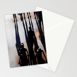 Steep descent Stationery Cards