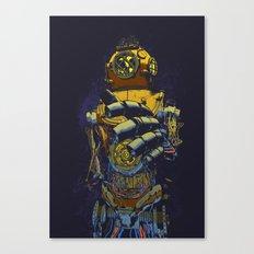 Deep Diver Canvas Print