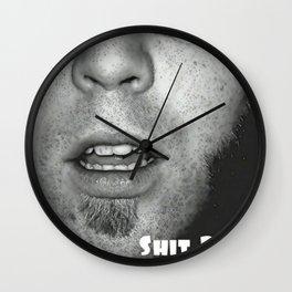 Shit Parade Wall Clock