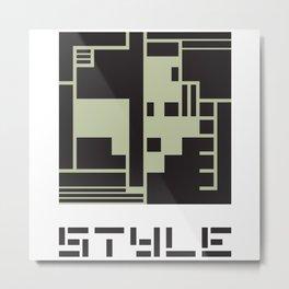 STYLE Metal Print