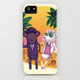 Miami Mice iPhone Case