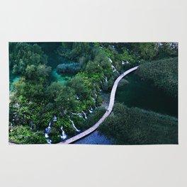 Plitvice National Park Rug