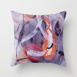 Meeting In The Air Throw Pillow