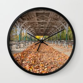 North Point Trolley Pavilion Wall Clock