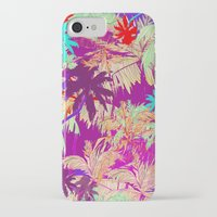 palm trees iPhone & iPod Cases featuring Palm Trees by Marcella Wylie