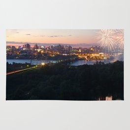 City Day closing, 121 years to Novosibirsk Rug