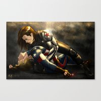 stucky Canvas Prints featuring Stucky by Pain-Art