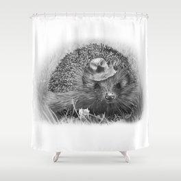 Hedgehog Shower Curtain