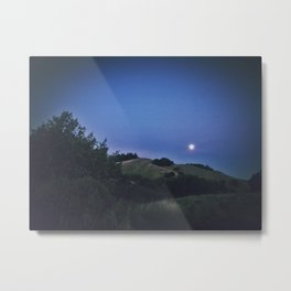 Super Moon Rising Metal Print
