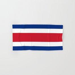 Flag of Costa rica -Costa rican, tico,San José ,Puerto Limón ,Alajuela, heredia. Hand & Bath Towel