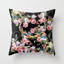 Hoop Love Throw Pillow