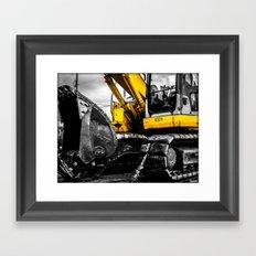 Yellow Bastard Framed Art Print
