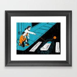 Risk Assessment Framed Art Print